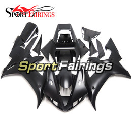 Injection Full Fairings For Yamaha YZF 1000 R1 YZF-R1 02 03 2002 2003 ABS Motorcycle Fairing Kit Body kit Motorbike Cowling Flat Black New