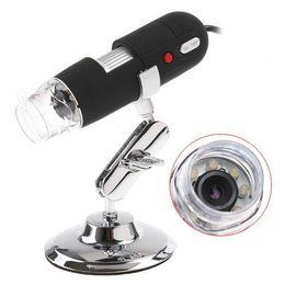 Wholesale 8x LED light Mini USB X X Portable Magnifier MP Digital Microscope Endoscope Camera Stand