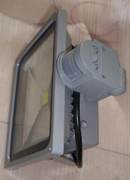 Wholesale Free Express Cost W W W W PIR LED Flood light with motion sensor Spotlight IP65 Waterproof Warm Cold White Advertising Lamp