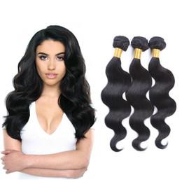 Best Selling Brazilian Virgin Hair Body Wave 50g pc Unprocessed Brazilian Human Hair Weave Bundles Brazilian Body Wave Hair Can be dyed