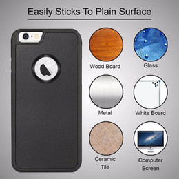 Wholesale Anti-gravity Phone Case For iPhone 7 7 plus 6s 6 Plus 5s Samsung S6 S7 edge Magic Sticks Nano Suction Cover