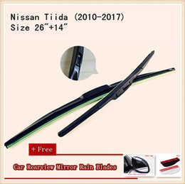 High Quality U-type Universal Car Windshield Wiper With Soft Natural Rubber For Nissan Tiida X-TRAIL Sunny Bluebird Cefiro-A32 Cefiro