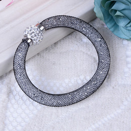 Europe and the United States Xiangbala mesh network Bracelet New Bohemia hand woven Bracelet with diamonds DIY woven Bracelet