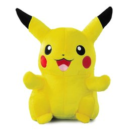Wholesale 30cm Anime Toypia Peluches Pikachu Soft Doll Nouveau Japon Cute Cartoon Peluche Jouets Films TV Brinquedos de haute qualité