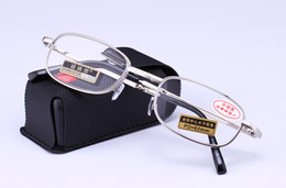 (6pcs lot) Folding reading glasses metal presbyopic glasses fashion slim reading glasses