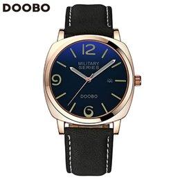 DOOBO 2016 Fashion Casual Women Watches Top Brand Luxury Leather Business Quartz-Watch Men Wristwatch Relogio Masculino