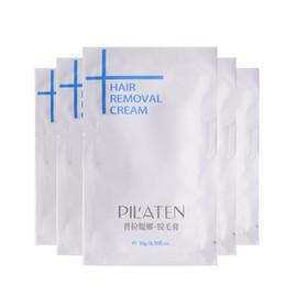 Wholesale 10g PILATEN Hair Removal Cream Painless Depilatory Cream For Leg Armpit Body Men Women Hair Removar Cream For Beauty