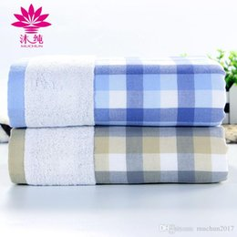 muchun Top Quality Checked Gauze Nature Cotton Towel MC-7112 Nature Material Soft Shower Bath Rectangl Towel Square Towel Set Free Shipping