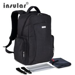 Wholesale Multifunctional Large Capacity Baby Diaper Bag Backpack Waterproof Mommy Bag Nappy Bag