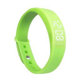 Acheter en ligne Moniteur de sommeil podomètre-Grossiste-TimeOwner Sport Podomètre Smart Wristband sommeil Moniteur de température Smart Bracelet Smart Band Fitness Tracker