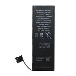 wholesale battery For iphone 5S APN:616-0580 3.8V 1560mah Best Quality Zero cycle AAA+ li-ion Battery Replacement & Free Fedex UPS