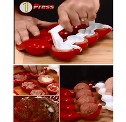 Meatballs del principiante rellenaron el fabricante de la bola de los pescados que procesaba las máquinas de la cocina del ABS del material del ABS del gadget de la cocina Venta caliente 5 5tf desde proceso de pesca proveedores