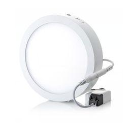 2017 dans la lumière conduit 6w 6W 12W 18W 25w 30w 36w ronde Carré Led Surface monté panneau de lumière Led éclairage de Downlight Led plafond bas projecteur 110-240V dans la lumière conduit 6w promotion