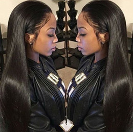 Wholesale Lace Front Human Hair Wigs Peruvian Virgin Hair Front Lace Wigs Straight Full Lace Human Hair Wigs For Black Women