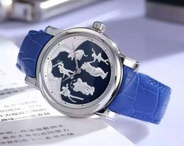 Wholesale Factory Supplier NEW Luxury fashion business distinguished precision automatic import mechanical relief back through the waterproof belt