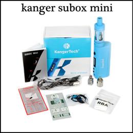 kanger subox mini starter kit 2015 newest clone Kangertech Kanger Subox mini satrter kit VS topbox mini kit freeshipping