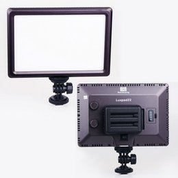 Nouveautés Pro Ultra Mince Luxpad22 Ra95 LED Chips Vidéo Lumière Bi-couleur 3200K-5600K Led Eclairage pour Canon Nikon Sony DSLR Caméra DV à partir de dslr video pro fournisseurs