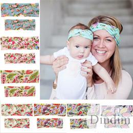 Cute baby accesorios de fotografía en venta-Brazalete lindo del pelo del bebé y de la mamá de la venda del pelo de los oídos de conejo de Diy de la mamá para las muchachas Accesorios del pelo Accesorios de la fotografía