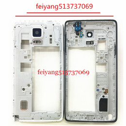 10pcs Original LCD Middle Plate Housing Frame Bezel +all small parts For Samsung Galaxy note 4 N910A