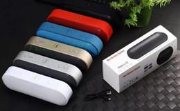 Wholesale Pill XL Bluetooth Speaker Lx Mini Pulse Speakers Built in Mic Handsfree Support TF Card USB Disk FM Radio Subwoof wireless speaker