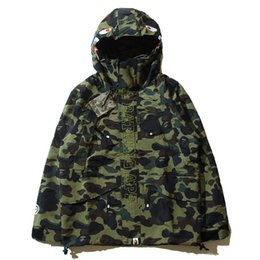 Wholesale Autumn Winter Men Women Camo Animal Printing Loves Thin Windbreaker Full Zip Cardigan Windbreaker Loves Hooded Sweatshirts Jackets