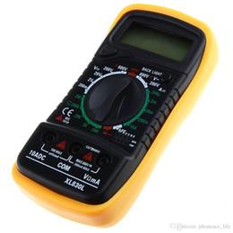 Wholesale Brand New AC DC EXCEL Digital Multimeter XL830L Volt Current Resistance Meter Ammeter Ohmmeter Tester Yellow