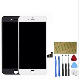 Compra Online Oído de la cámara-Pantalla LCD Pantalla táctil Digitizer Full Assembly Set para iPhone 6 y Plus iPhone 7 y Plus Screen Replacement with Front Camera Ear Speake