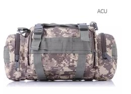 Water resistance camouflage waist bag 9 Colors multi-function 3p pack outdoor sports backpack adventure tactical Waist Bag