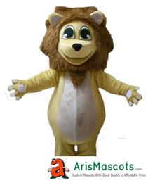 AM9070 Lion Mascot Costume Outfits Custom Animal Mascots for Advertising Team Mascot Character Design Deguisement Mascotte Quality Mascot