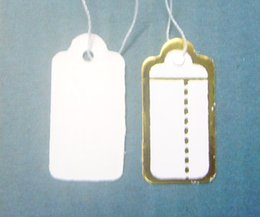 Free Shipping 500pcs lot Label Tags Price Tags Card For Jewellery Gift Packaging Display 13mmX26mm LA5*