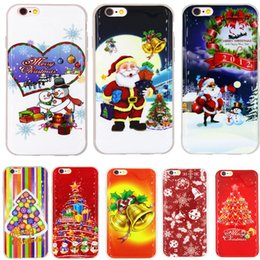 Christmas phone cases for iphone6   6s Christmas couples mobile phone cases for iPhone7plus silicone cases 5S soft shell