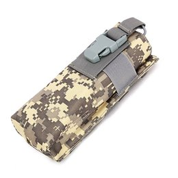 Wholesale Tactical Molle Radio Pouch Airsoft Paintball Hunting Walkie talkie Pocket Bag