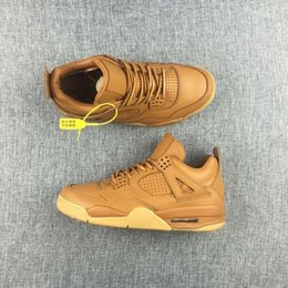 Wholesale New air retro Premium Ginger Wheat men basketball shoes sports sneakers Retro trainers best Top Quality size