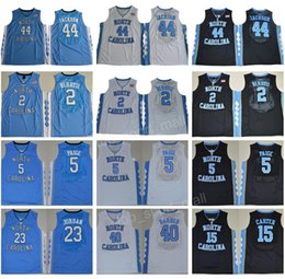 Wholesale NCAA College North Carolina Tar Heels Jerseys Justin Jackson Joel Berry II Marcus Paige Vince Carter Michael Harrison Barnes