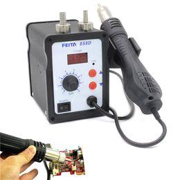 Wholesale FEITA D Mobile Repairing SMD Rework Station Hot Air Heat Gun Welding Machine for PCB Desoldering V V Optional Voltage