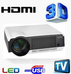 Wholesale LED86 Digital LED Home Education Projector Engineering Theater Projection Lux Full HD Business Advertising D Projector Projection