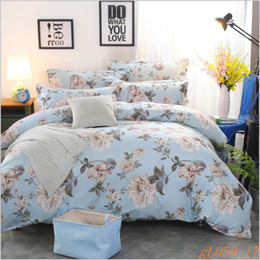 2017 cheap and free shipping winter thicken polyester sky blue home textile