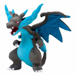 Wholesale Hot Sale quot cm Mega Evolution Charizard Poke Pocket Monsters Plush Doll Stuffed Toy Cartoon Gift for Kid discount