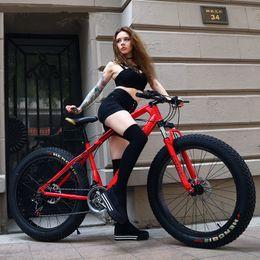 Wholesale 26 Inch Speed ATV Super Wide Tire Mountain Bike Snow Bike Fat Bike Beach Bike MTB Bicycle