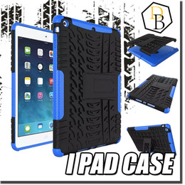 For iPad Air 2 iPad 6 Colorful Armor Rugged PC TPU Hybrid Case Kickstand For iPad mini Spiderman Shock Proof Phone Cases iPad air mini Cases
