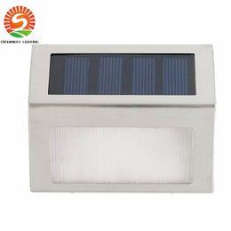 2017 качество панели Солнечный свет Водонепроницаемые светодиодные лампы солнечные фонари для сада 2 Leds Открытый настенные lightImported монокристаллического кремния панели солнечных батарей высокого качества качество панели на продажу