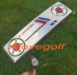2017 golf putter custom USA Flag putter Newport 2 or Newport 2.5 with 15g weights removable OEM quality golf clubs