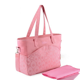 Wholesale Fashion Printing Baby Diaper Bags Multifunctional Nappy Bag Mommy Bag Baby Bag