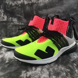Wholesale 2016 new CRONYM Lab Air Presto Mid footwear Foot Locker Boots Men s Basketball Shoes Sports Shoes Online Sale Training Sneakers Shoes