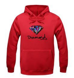 Wholesale Diamond supply co men hoodie women street brand fleece warm sweatshirt winter autumn fashion hip hop primitive pullover