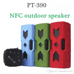 PT-390 Outdoor Shower Speaker Bluetooth Speaker Protable Waterproof Sopport TF Card & FM Radio With Retails Package Free Shipping
