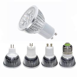High power CREE Led Lamp 3W 4W 5W Dimmable GU10 MR16 E27 E14 GU5.3 B22 Led Light Spotlight led bulb downlight lamps