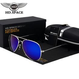 2017 Classic HD Polarized aviador gafas de sol mujeres hombres conducir espejo gafas de sol LD002 piloto hombres gafas de sol hombres marca diseñador sombra desde espejo de cristal clásico proveedores
