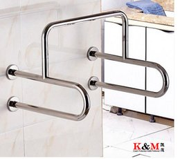 Top Quality Stainless Steel Handicapped Grab Rails Toilet Safety Rail Toilet Handrails For Disable And Elderly Patient