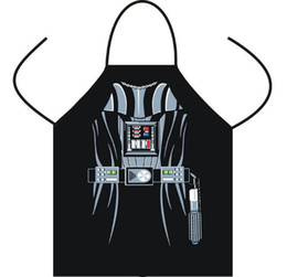 Wholesale Apron Star Wars aprons Spiderman Wonder women Anime Cartoon Character Series Kitchen Apron Funny Personality Cooking apron Christmas